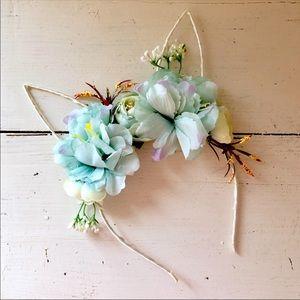 NWT. BUNDLE $3/20. Floral Girls Bunny Ear Headband